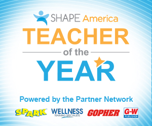 SHAPE Teacher of the Year 2020 Promo