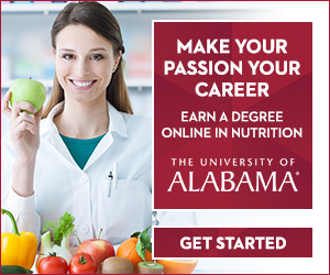 University of Alabama Nutrition Ad